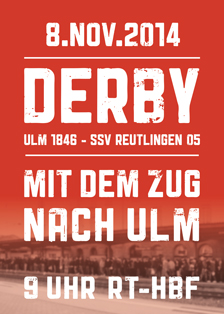 Derby am 8. November 2014: Ulm 1846 – SSV Reutlingen 05