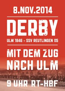 Derby am 8. November 2014: Ulm 1846 – SSV Reutlingen 05